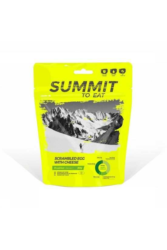 Summit to eat Meal Scrambled Egg With Cheese No colour / Transparent