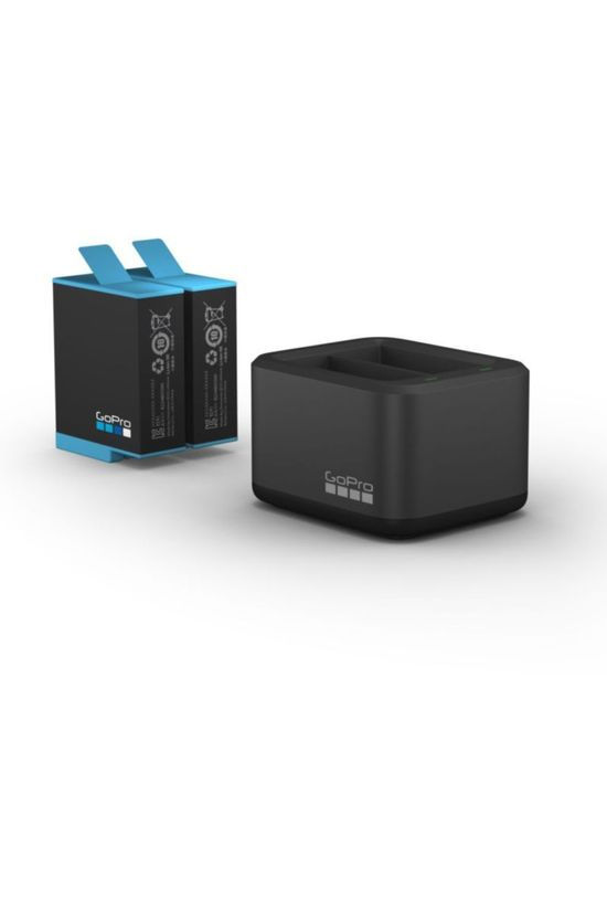 GoPro Accessoire Dual Battery Charger + Battery Hero 9 Noir