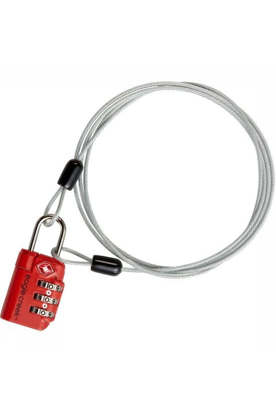 Eagle Creek Lock&Cable Tsa orange