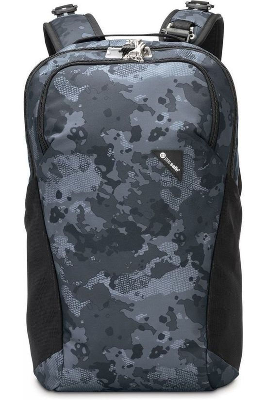 Pacsafe Anti Theft Vibe 20L Dark Grey/Ass. Camouflage