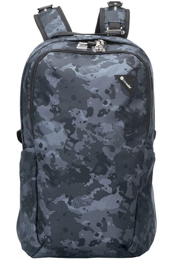 Pacsafe Anti Theft Vibe 25L Dark Grey/Ass. Camouflage