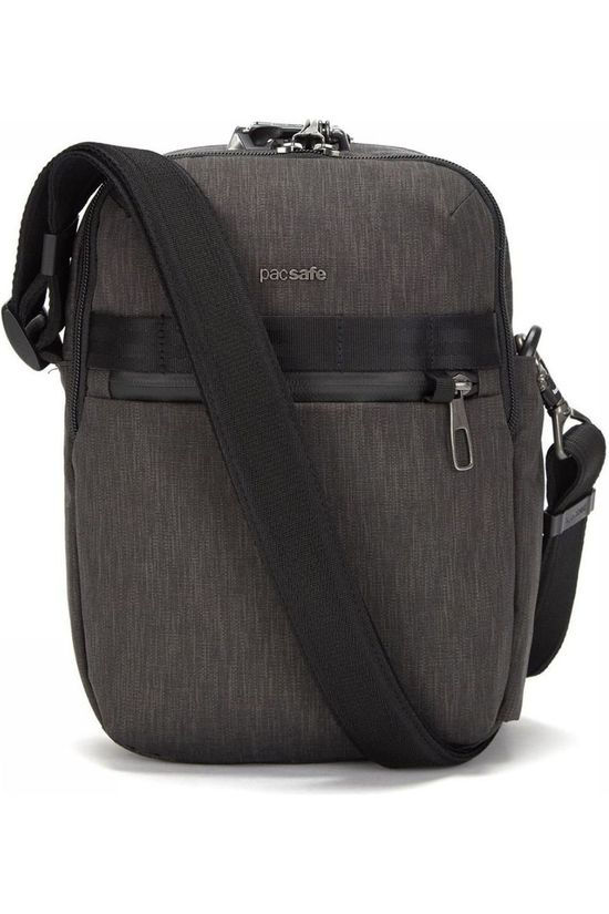 Pacsafe Anti Theft Metrosafe X Vertical Crossbody dark grey