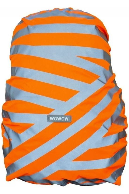 Wowow Reflective  Bag Cover Citylab orange/mid grey
