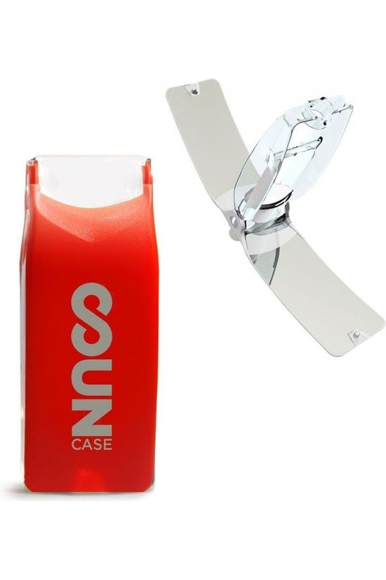 Solar Brother Fire Suncase red/silver