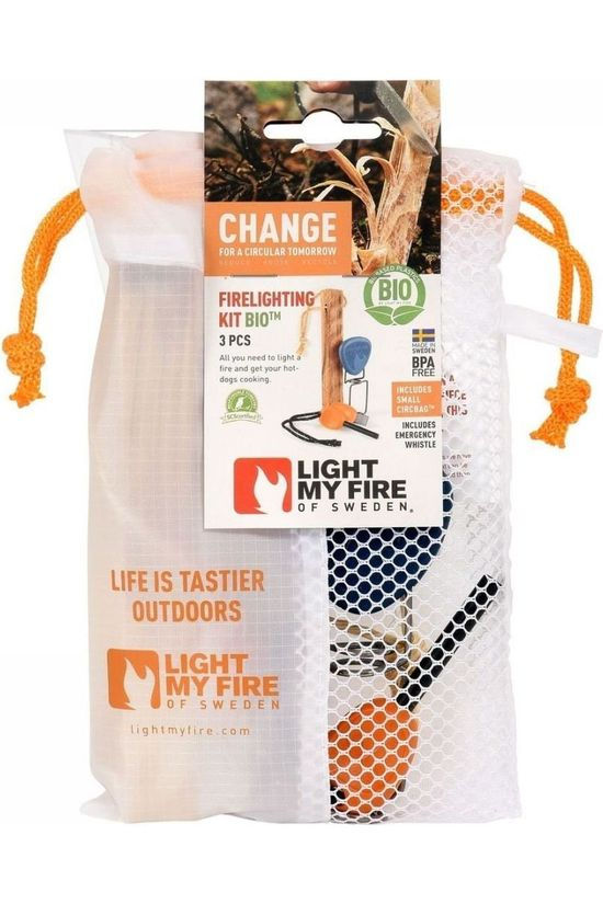 Light My Fire Feu Firelighting Kit Bio Bleu Moyen/Orange