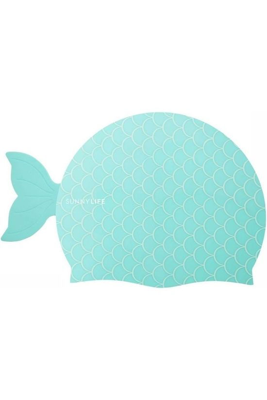 Sunnylife Jouets Shaped Swimming Cap 3-9 Mermaid Turquoise