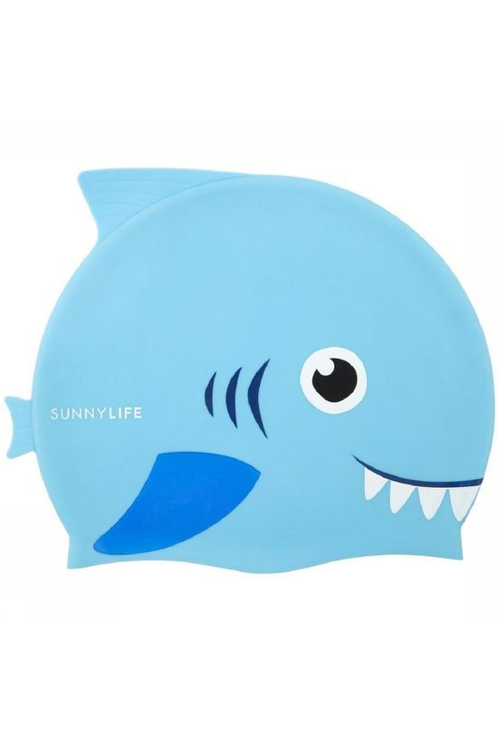 Sunnylife Jouets Shaped Swimming Cap 3-9 Bleu Moyen