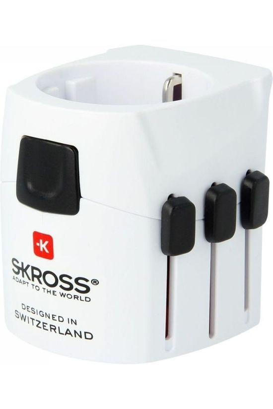 S-Kross Adapteur Universel Reisstekker Pro Light Pas de couleur / Transparent