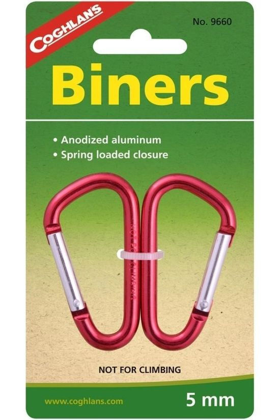 Coghlan's Carabiners Cog Mini Biners 5Mm No colour / Transparent