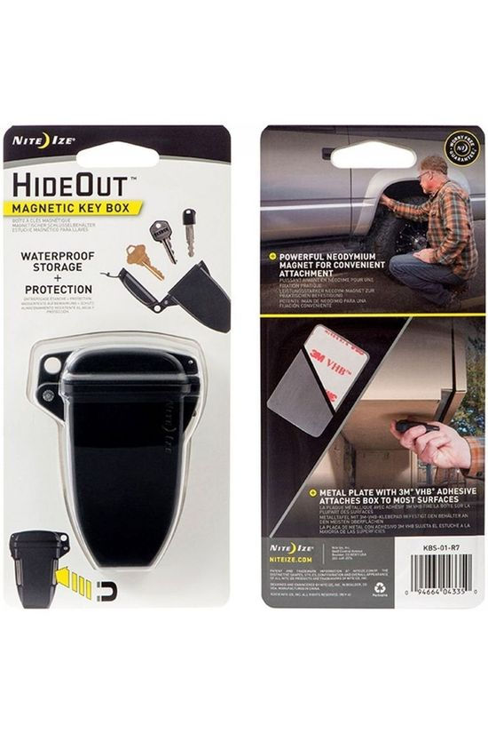 Nite Ize Divers Hideout Magnetic Key Box Noir