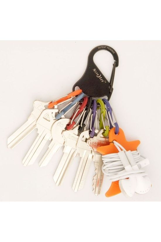 Nite Ize Keyrack S-Biner Black/Assorted / Mixed
