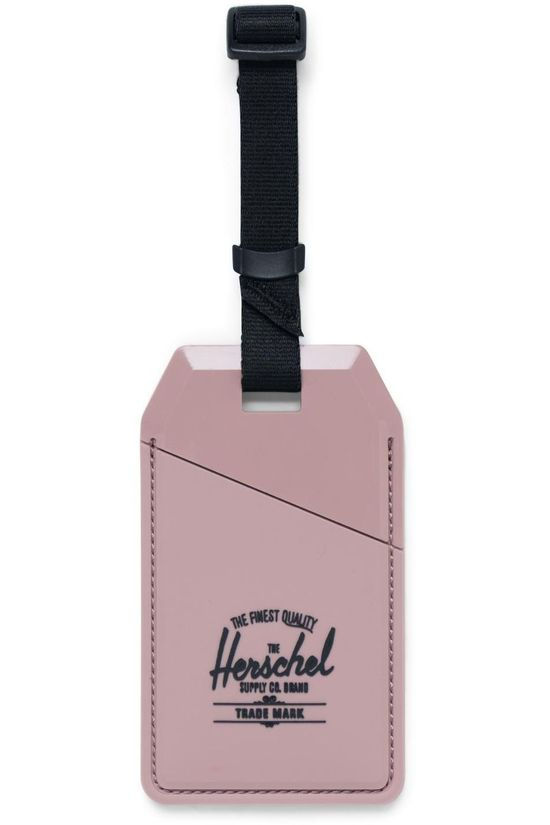 Herschel Supply Miscellaneous Luggage Tag Rubber dark pink
