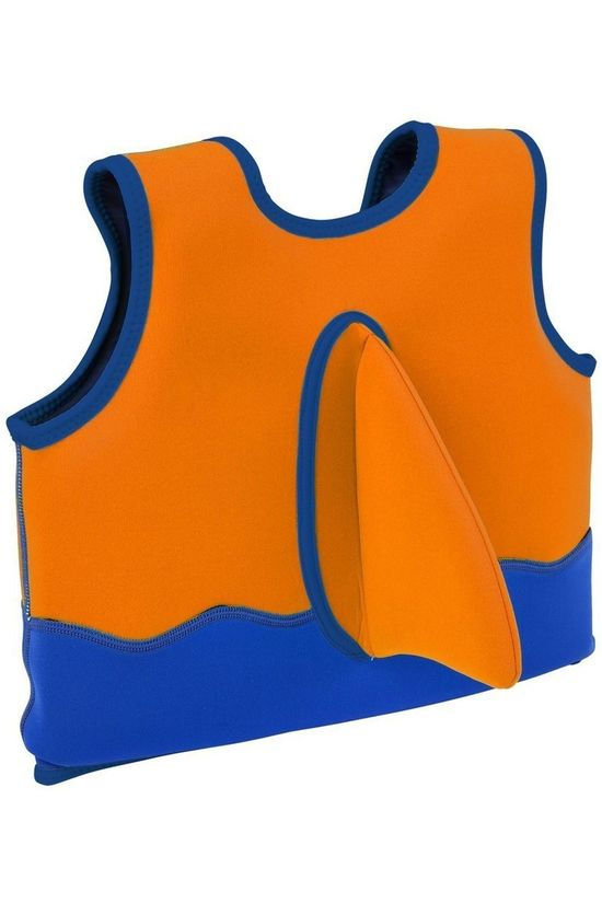 Sunnylife Float Vest 1-2 years orange/dark blue