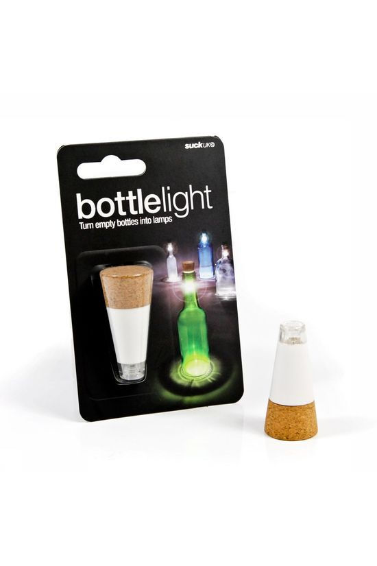 Suck UK Gadget Light For Bottle No colour / Transparent