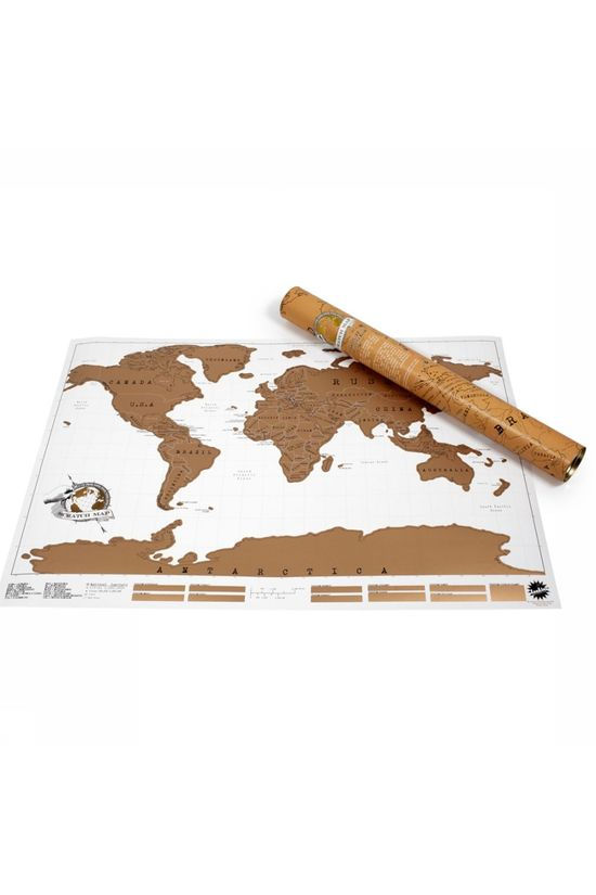 Luckies Gadget Scratch Map World No colour / Transparent