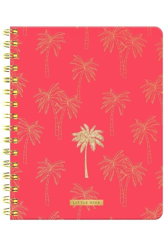 Little Diva COLLECITION D'ETE LIDI MDC NOTEBOOK A5 Pas de couleur / Transparent