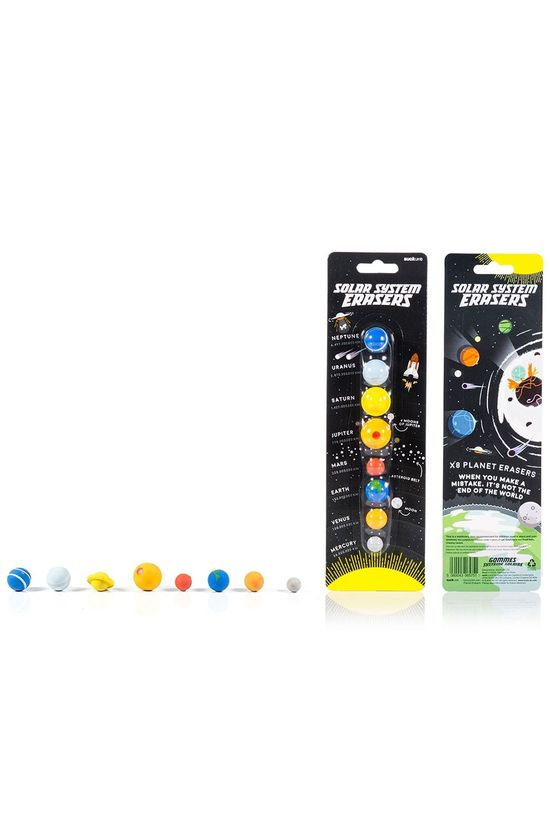 Suck UK Solar System Erasers Assorti / Mixte