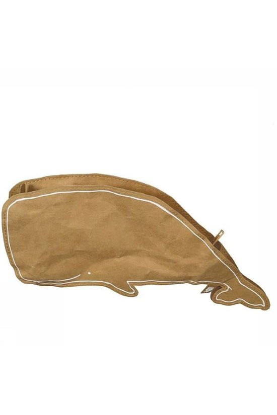 The Zoo Gadget Pencil Case Ocean Whale mid brown