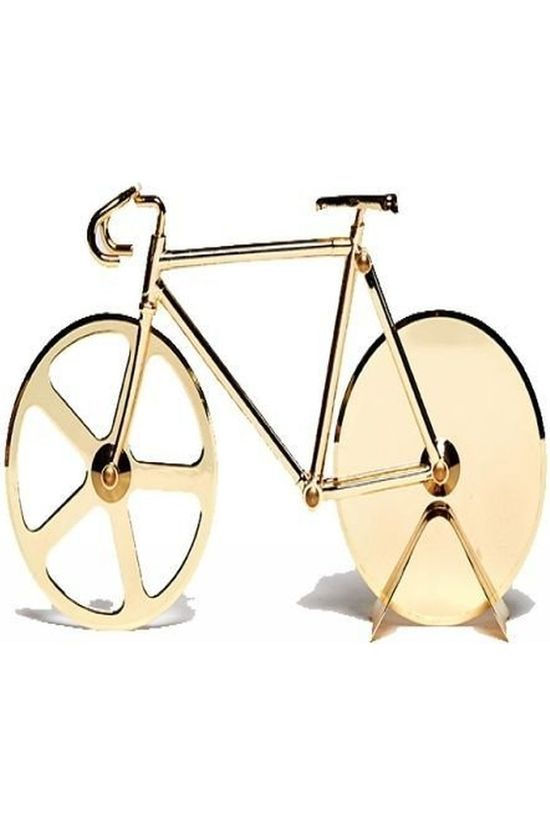 Doiy Gadget Pizza Cutter Fixie gold