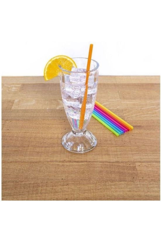 Kikkerland Gadget Bright Color Reusable Straws Assorti / Gemengd
