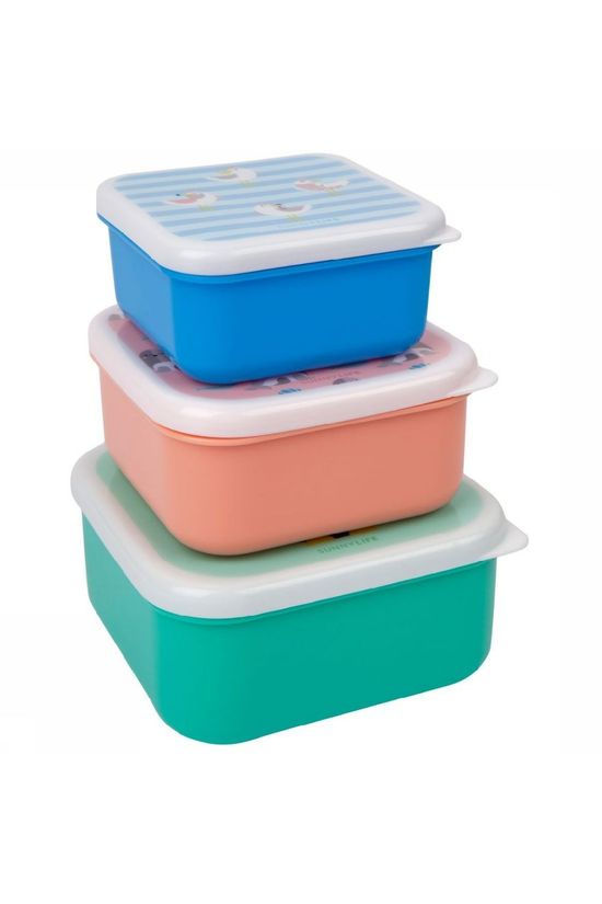 Sunnylife Gadget Kids Nested Containers Explorer Assorti / Mixte