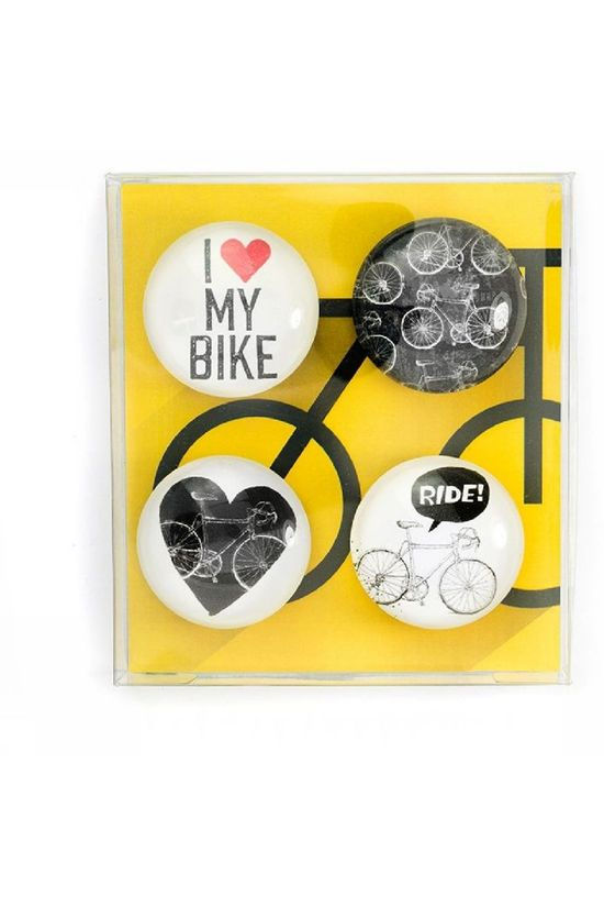 Trendform Gadget Eye Bike Magnets white/black