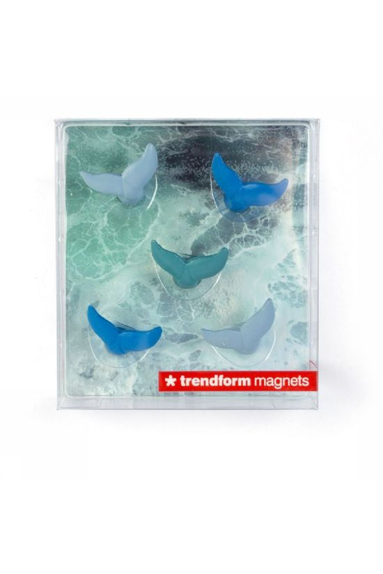 Trendform Gadget Blue Whale Magnets Assorted / Mixed
