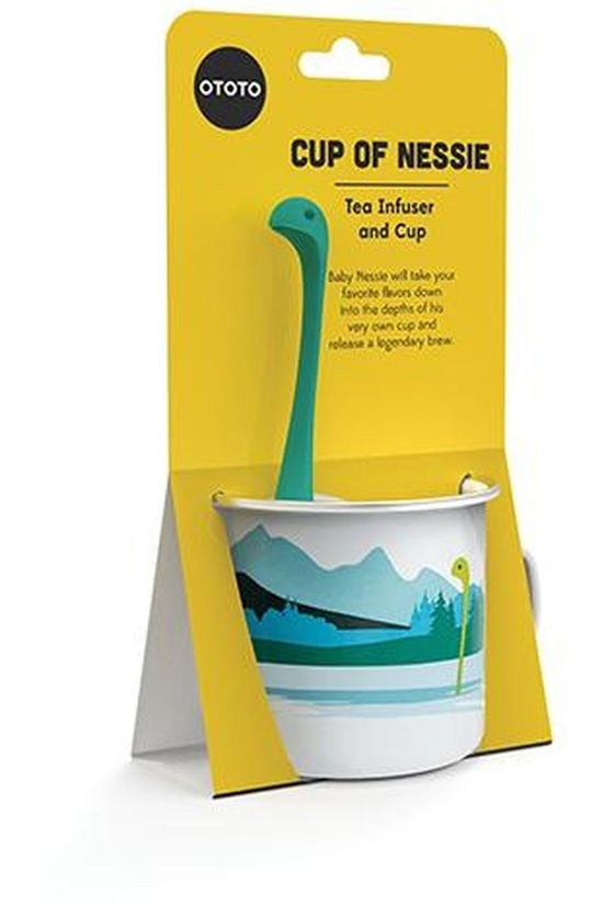 Ototo Gadget Cup Of Nessie Tea Infuser Blanc/Turquoise