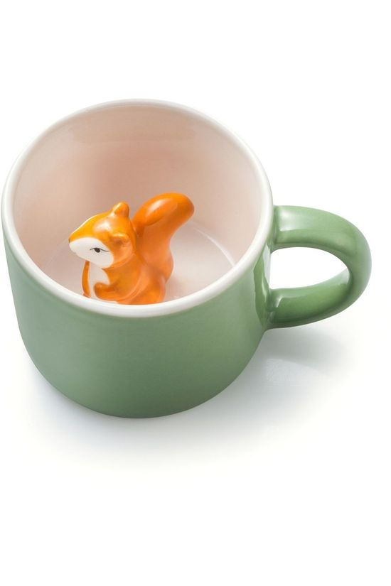 Donkey Gadget Animal Mugs mid green/orange