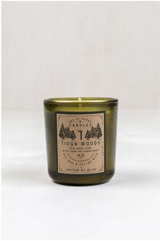 United by Blue Gadget Tioga Woods Out Of Doors Candle 8.5 Oz No colour / Transparent