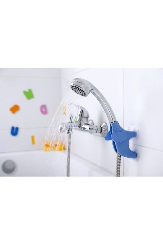Peleg Design Gadget Trunky Dory Shower Head Porteur Bleu Clair
