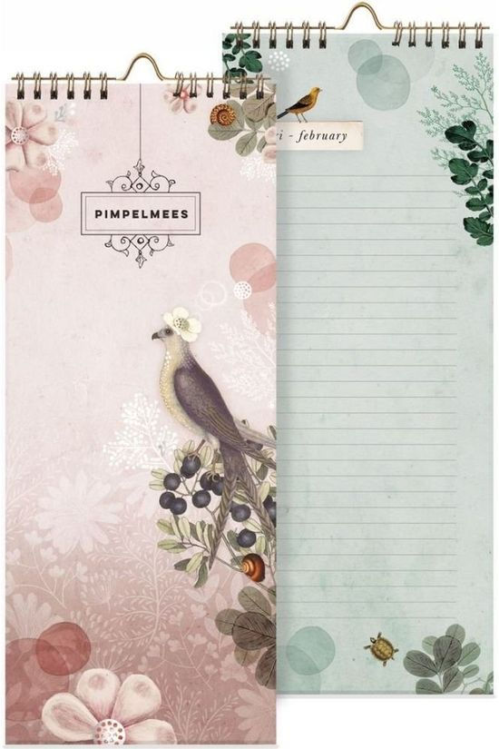 Pimpelmees PAPETERIE PIM BIRTHDAY CALENDAR Pas de couleur / Transparent