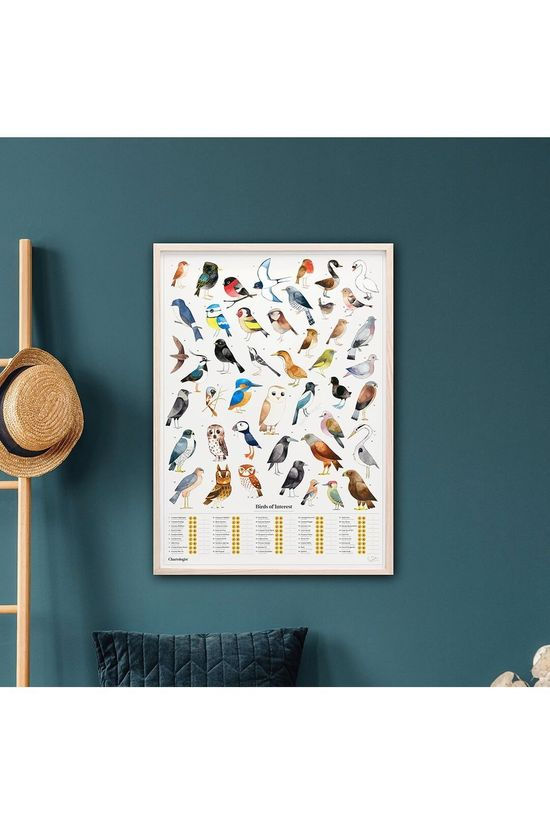 The Chartologist Gadget Poster Garden Birds Blanc/Assorti / Mixte