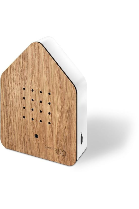 Relaxound Gadget Zwitscherbox Wood Oak mid brown/white