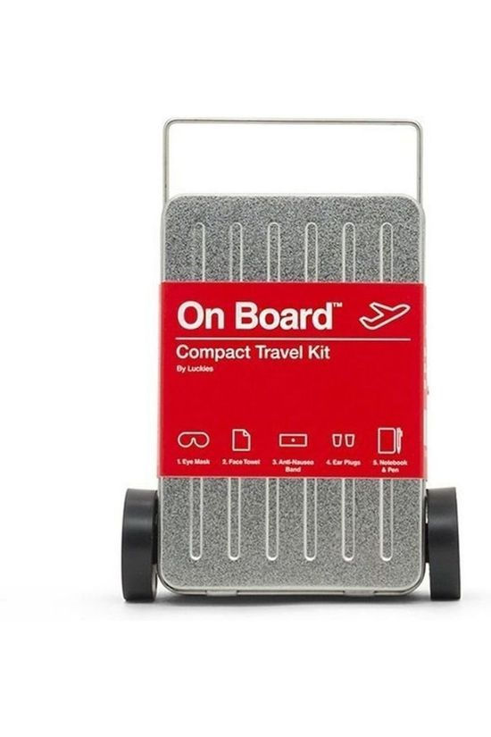 Luckies Gadget Luckies On Board Compact Travel Kit silver/mid red