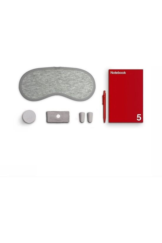 Luckies Gadget Luckies On Board Compact Travel Kit Argent/Rouge Moyen