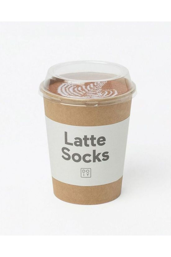 Doiy Gadget Latte Socks white/mid brown