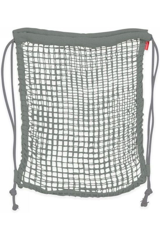 Kikkerland Gadget Cotton Net Backpack dark grey