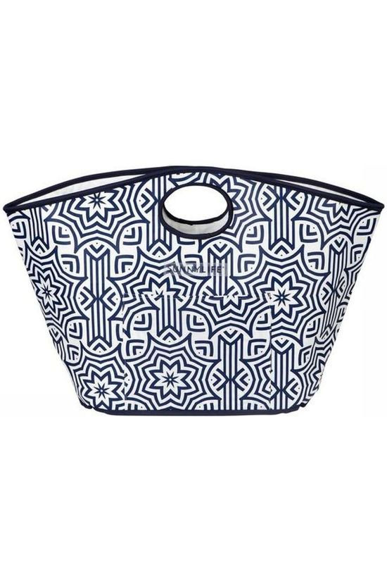 Sunnylife Gadget Carryall Bag mid blue/white