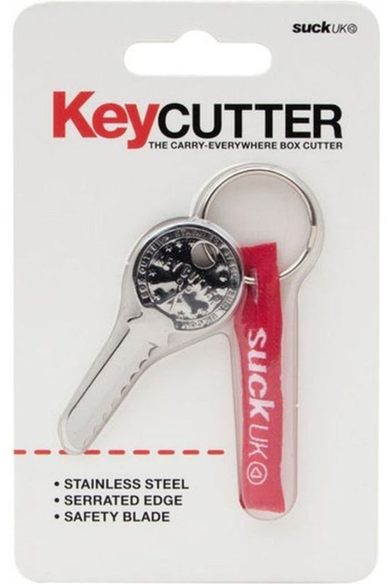 Suck UK Gadget Key Cutter Zilver