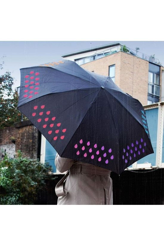 Suck UK Gadget Colour Change Umbrella Zwart