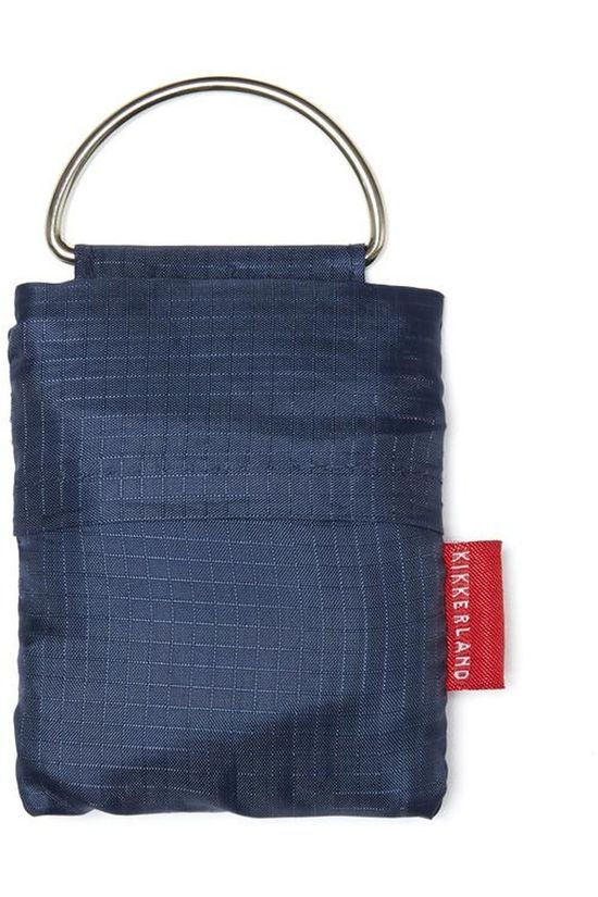 Kikkerland Gadget Key Ring Shopping Bag Bleu Foncé