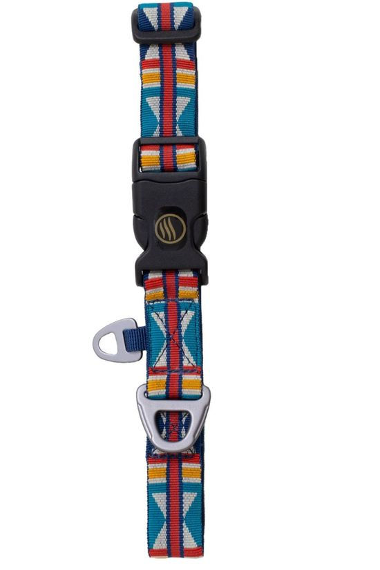 United by Blue Gadget Woven Dog Collar Dark Blue/Assorted / Mixed