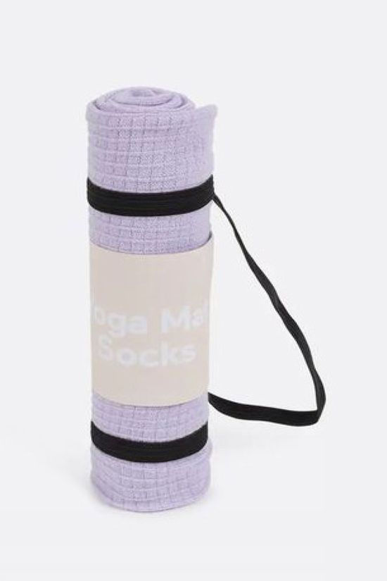 Doiy Gadget Yoga Mat Socks light purple