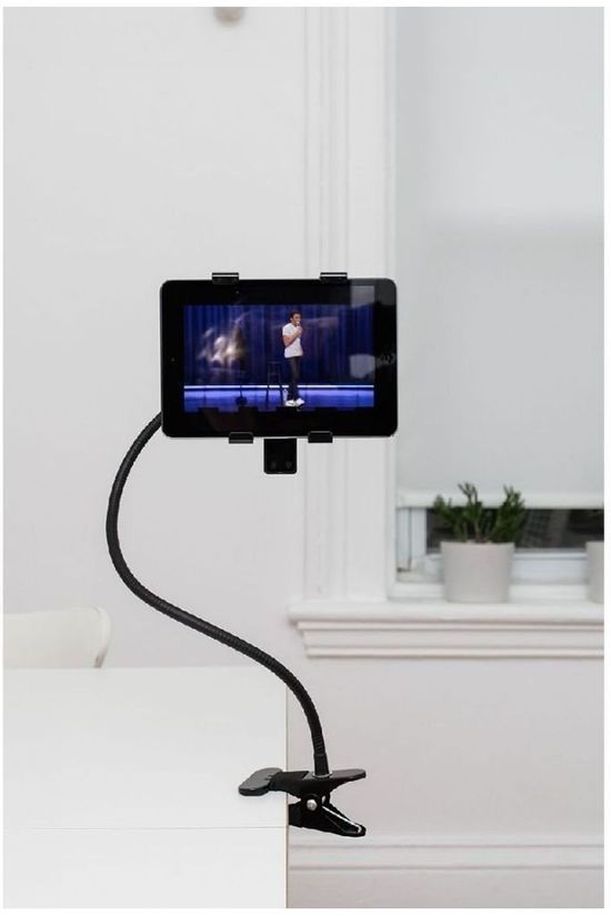 Kikkerland Gadget Flexible Tablet Holder black