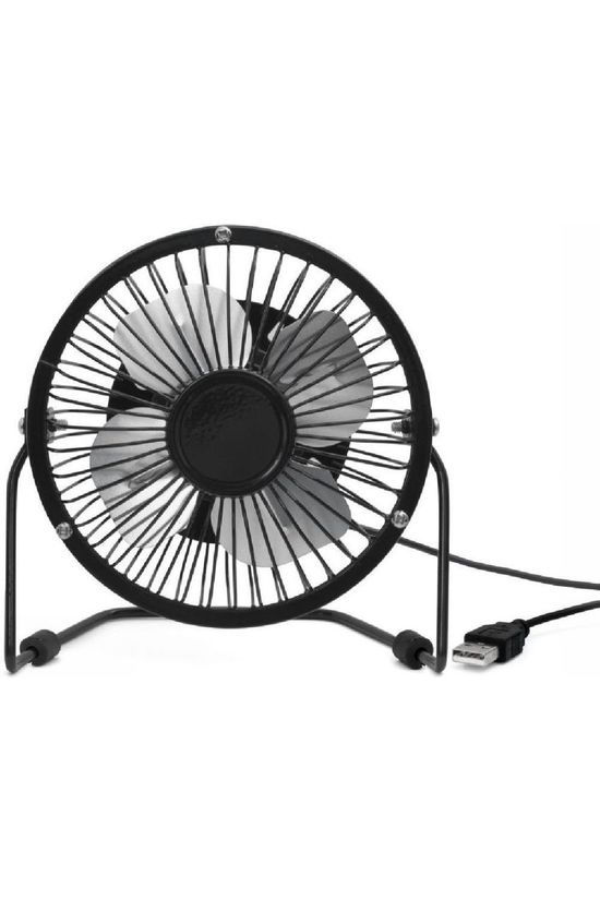 Kikkerland Gadget Usb Desk Fan black