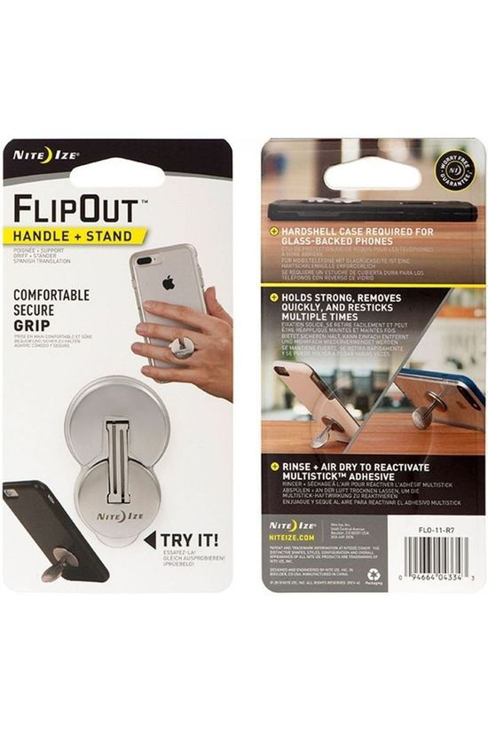 Nite Ize Flipout Handle + Stand No colour / Transparent