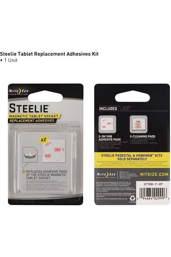 Nite Ize Steelie Tablet Replacement Kit black