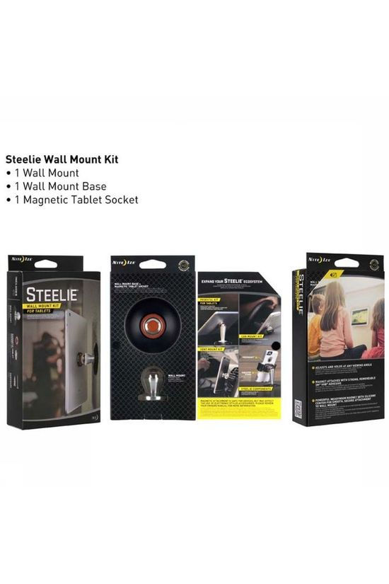 Nite Ize Steelie Wall Mount Kit No colour / Transparent