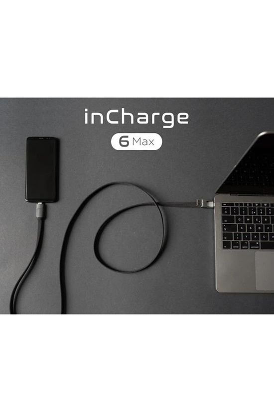 inCharge InCharge 6 Max Cable Middengrijs